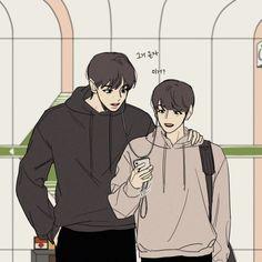 """재고판매중/레몬 on Twitter: """"연습 끝나구 집가는 찬백이들ㅎㅎ… """" Baekhyun Fanart, Chanbaek Fanart, Exo Chanbaek, Ending Story, Exo Fan Art, Cute Gay Couples, Short Comics, Best Fan, Sketch Inspiration"""