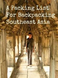 Planning a backpacking trip around Southeast Asia and looking for help with your packing list from someone who has been there?  Hello, that's me! Over the past decade I've spent more than 3 years backpacking around the world. I was a travel agent. I...