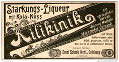 Original-Werbung/Inserat/ Anzeige 1902 - KILIKINIK LIQUEUR ca. 90 X 50 mm