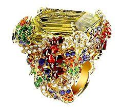 """Dior """"Vendanges"""" ring"""