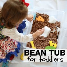 Bean Tub for Toddlers