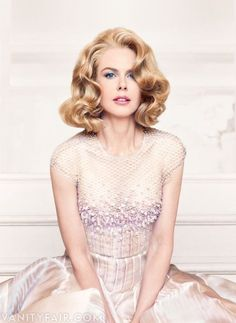Nicole Kidman - Photograph by Patrick Demarchelier.