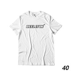 Reel it in Tee. Street Style, Tees, Clothing, Mens Tops, T Shirt, Instagram, Fashion, Outfits, Supreme T Shirt