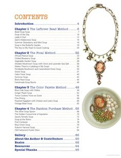 Bead Soup: 32 Projects Show What Happens When 26 Beaders Swap Their Stash - Lori Anderson - Google Books