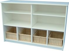 Classic 4 x 2 Storage Unit with Basket