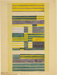 Anni Albers, design for a wall hanging, Collection Museum of Modern Art, NY. 2016 Josef and Anni Albers Foundation/ARS, NY Anni Albers, Josef Albers, Moma, Bauhaus Textiles, Bauhaus Art, Bauhaus Design, Am Meer, Textile Artists, Textures Patterns
