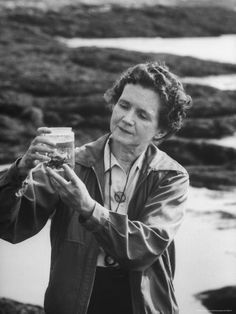 Parish studied Rachel Carson's work closely, and wrote her thesis paper on a look back at Carson's work