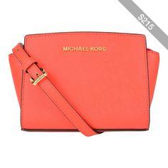 MICHAEL MICHAEL KORS Mini Selma Messenger Bag