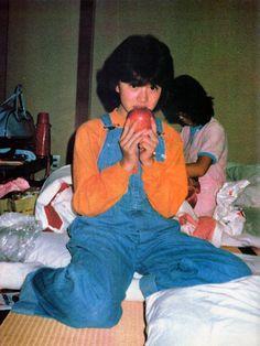 明菜さんデビュー前の写真
