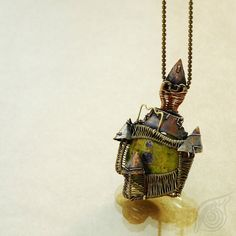 Castle (necklace) by NADYjewel on deviantART