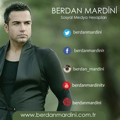Berdan Mardini Sosyal Medya Hesapları;  www.facebook.com/berdanmardini1 www.twitter.com/berdan_mardini www.youtube.com/berdanmardinitv www.pinterest.com/berdanmardini www.instagram.com/berdanmardini