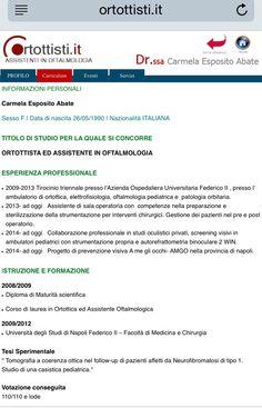 PROFILO PREMIUM #ortottista #ortottisti #ortottica #riabilitazione #vista #occhio #occhi #portaleortottisti #screenigortottico #esamestrumentale #oftalmologia #assistente http://evpo.st/180pXZ3