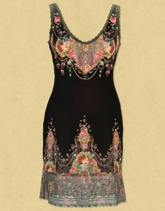 http://pinterest.com/itsomeee/   Negrin tunic with swarovski crystals