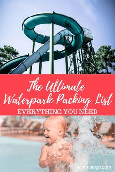 The Ultimate Waterpark Packing List - What to bring To Indoor and Outdoor Waterparks | Waterpark Outfit | Great Wolf Lodge | Aquatica | Waterpark Tips | Packing for indoor waterpark tips | Waterpark Tips indoor |Visiting a waterpark with kids | Waterpark Tips Kids | Waterpark Tips Summer | Waterpark Packing List Indoor | Waterpark Packing List Kids | Waterpark Packing List Summer #Waterpark #Summer #Travel #FamilyTravel #Packing #TravelTips Baby Plane Travel, Travel Car Seat, Summer Travel, Traveling With Baby, Travel With Kids, Family Travel, Family Vacations, Vacation Packing, Packing Tips For Travel
