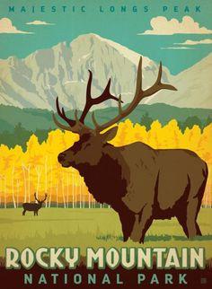Longs Peak, Rocky Mountain National Park ~ Anderson Design