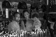 Η φωτογράφιση Βάπτισης του μικρού Δημήτρη  στο μοναστήρι του Αγίου Γερασίμου