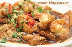 Xu Jun Sheng Teochew Porridge No 30 Joo Chiat Place (Junction of Tembeling road & Joo Chiat Place) Mon-Sat: 11am - 8pm Sunday: 10.30am - 3pm Wednesdays off