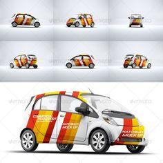 Cars Mockup