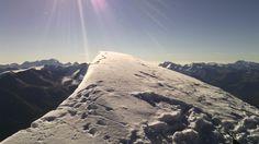 Sommet du Mont Pourri (3779 mètres) en Vanoise