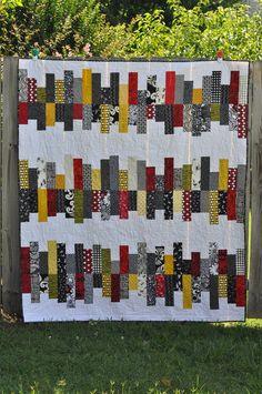 Trish & Dan's wedding quilt