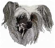 Embroidery dog designs by BALARAD, s. - Online shop of stock designs - check the box to add design to the shopping cart Chinese Crested Dog, Color Blending, Dog Design, Cat Breeds, Animals And Pets, Embroidery Designs, Pattern Design, Dog Cat, Lion Sculpture