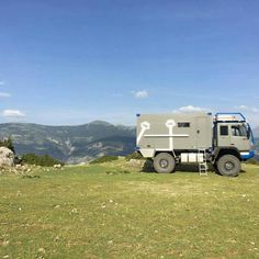 Off Road Camper, Truck Camper, Rv Campers, Camper Van, General Motors, Adventure Campers, Steyr, Expedition Vehicle, Land Rover Defender