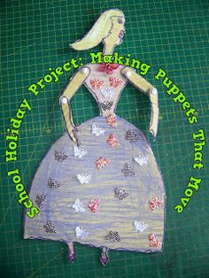 A Pretty Talent Blog: School Holiday Project 46: Making Puppets That Move