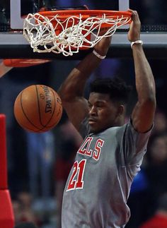 Butler with the dunk.