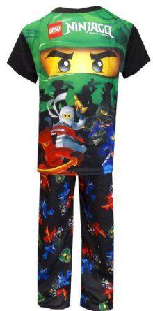 LEGO Ninjago Masters of Spinjitzu Lloyd Garmadon Pajamas for boys