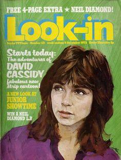December 1972, David Cassidy.