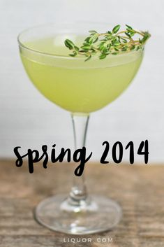 Patrick's Day the right way with the Spring This is a green modern classic cocktail that will be a favorite at any St. Spring Cocktails, Fun Cocktails, Fun Drinks, Party Drinks, Beverages, Types Of Cocktails, Classic Cocktails, Japanese Whisky, Best Cocktail Recipes