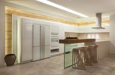cozinha branca contemporânea - Pesquisa Google