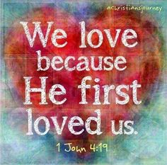 Love Comes from God Because God IS Love.  www.canichangeMyLife.com