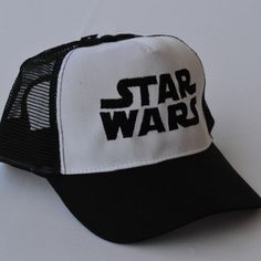 Trucker hat,Cap embroidery, Machine embroidered Star Wars logo on boys trucker cap by NeedleArtGR on Etsy