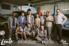 The countdown has begun, only 16 days left. Here is the team of Scheepers Motors. #SyKlinkSoosLente #30Sept2016 #Nulaid