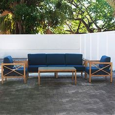 The Hampton 4-Piece Lounge Set - Sam's Club
