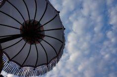 Blue sky in Ubud Bali