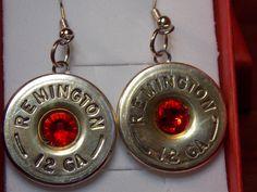 Wedding Jewelry - Bullet Jewelry - Shotgun shell jewelry - Swarovski Crystal jewelry - Gun Shell Jewelry #bulletjewelry #shotgunshell jewelry #ladiesgift