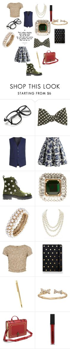 """Cool square"" by alisafranklin on Polyvore featuring DIBI, Topman, Chicwish, Anouki, Alexander McQueen, Anne Klein, Chanel, Alice + Olivia, Sugar Paper and Cartier"