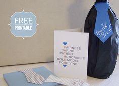 Pretty Ties - Free Printable | Printables | The Pretty Blog