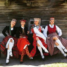 Riga ♥ Latvia ♥ Gorgeous Traditional Dresses ♥