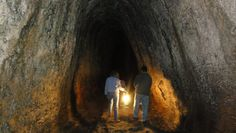 The Ape Caves in Washington, ancient Lava Caves  found in the Gifford Pinchot National Forest, on the south side of Mount St. Helens.