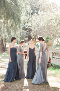 Click through to see our picks of modern bridesmaid dresses long, short, mismatched and everything in-between!