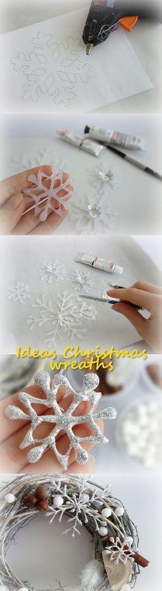 Ideas Christmas wreaths                                                                                                                                                                                 More
