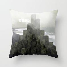 Shades of grey from Iceland Throw Pillow by Prdart | Society6  #art #design #interior #throwpillow #iceland #fog #black #white #grey #shades #homedecor #interiordesign
