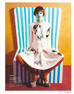 Numero Tokyo // Editorials for Spring // #beauty