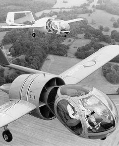 かっこ良すぎるだろ… 「虫の眼」を持つ異形の航空機のデザインがまるで宇宙船