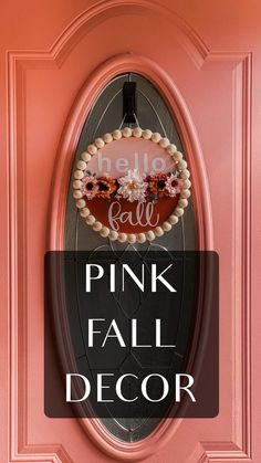 Front Door Signs, Wreaths For Front Door, Reflection Art, Fall Wedding Centerpieces, Fall Diy, Fall Home Decor, Fall Wreaths, Fall Trends, Fall Crafts