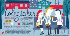 Cositas Ricas Ilustradas por Pati Aguilera: Colegiales