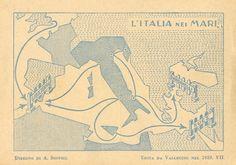 Italy, Embiggened and Encircled | Big Think | Strange Maps